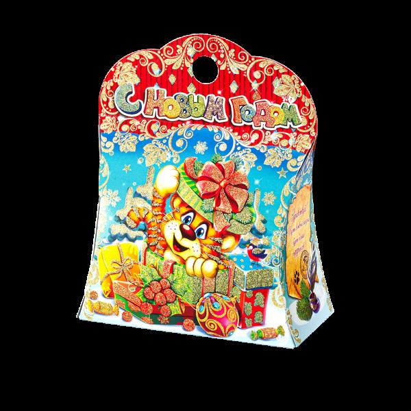 Новогодний подарок Конфетное настроение стоимостью 750 руб. и весом 1000 гр.