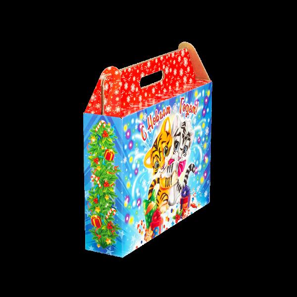 Новогодний подарок Искры счастья стоимостью 690 руб. и весом 900 гр.