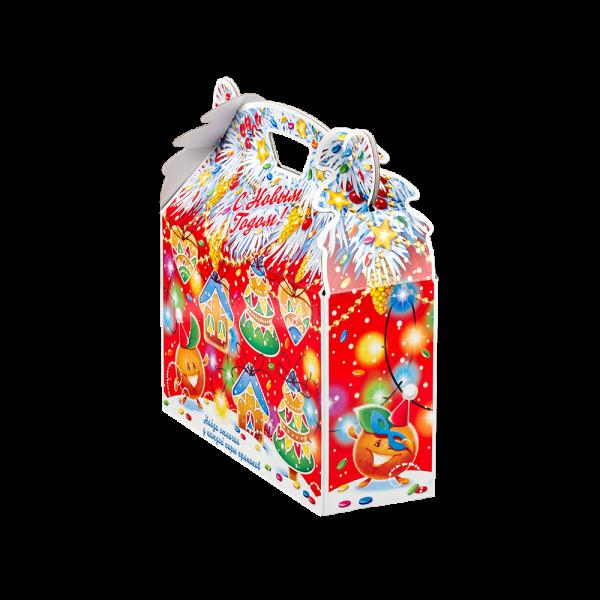 Новогодний подарок Джени стоимостью 690 руб. и весом 900 гр.