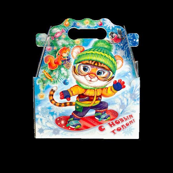 Новогодний подарок Зимний спорт стоимостью 690 руб. и весом 900 гр.