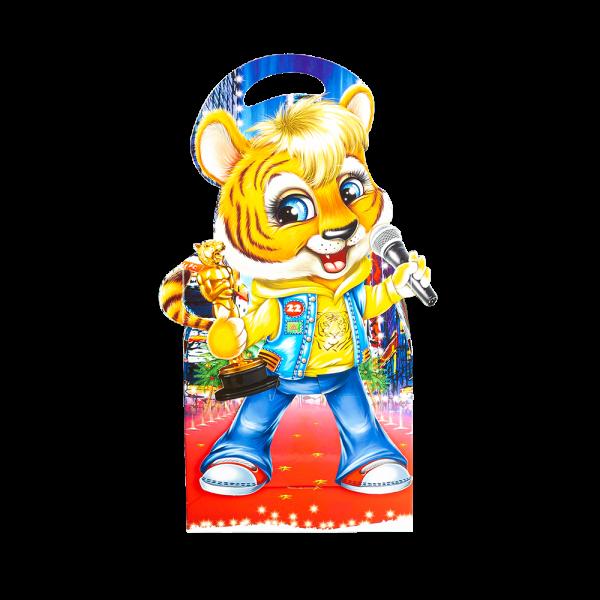 Новогодний подарок Альберт стоимостью 600 руб. и весом 800 гр.