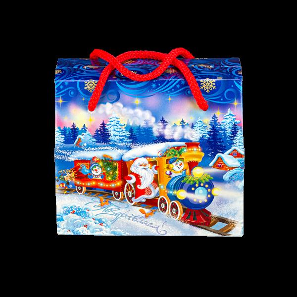 Новогодний подарок Северный экспресс стоимостью 510 руб. и весом 700 гр.