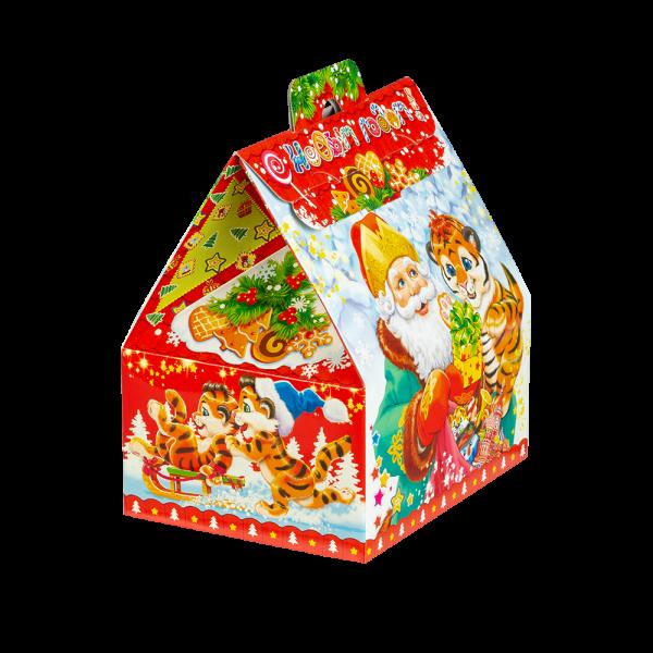 Новогодний подарок Смешинка стоимостью 510 руб. и весом 700 гр.