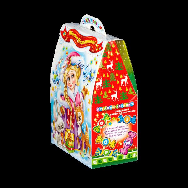 Новогодний подарок Люблю подарки стоимостью 430 руб. и весом 600 гр.