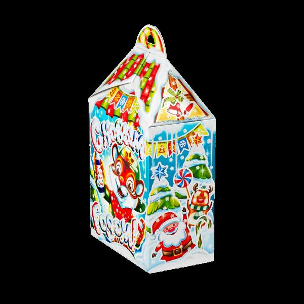 Новогодний подарок Ребята-зверята стоимостью 430 руб. и весом 600 гр.