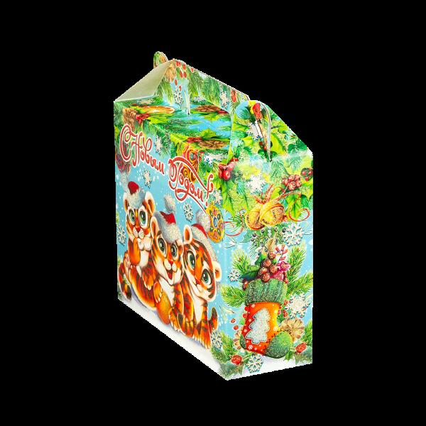 Новогодний подарок Братики-полосатики стоимостью 360 руб. и весом 500 гр.