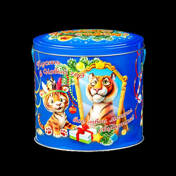 Новогодний подарок Сладкая мечта стоимостью 630 руб. и весом 600 гр.