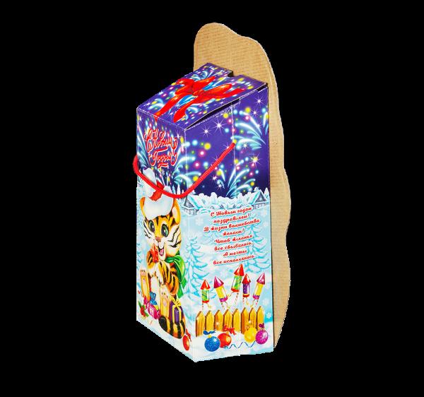 Новогодний подарок Няшка-вкусняшка стоимостью 590 руб. и весом 1000 гр.