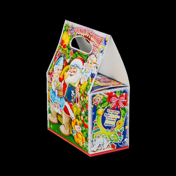 Новогодний подарок Братец Пряник стоимостью 460 руб. и весом 800 гр.