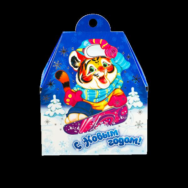 Новогодний подарок Сноубордист стоимостью 460 руб. и весом 800 гр.