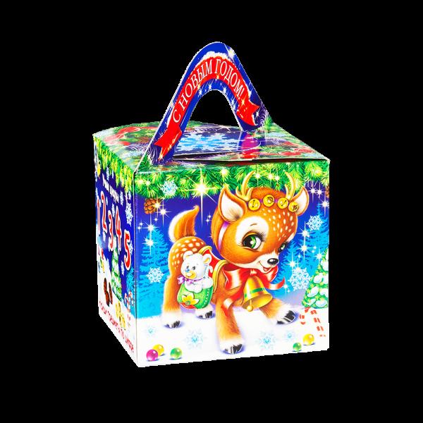 Новогодний подарок Кубик Искорка стоимостью 390 руб. и весом 700 гр.