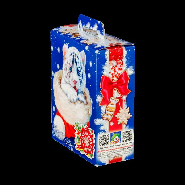 Новогодний подарок Тобби стоимостью 350 руб. и весом 600 гр.