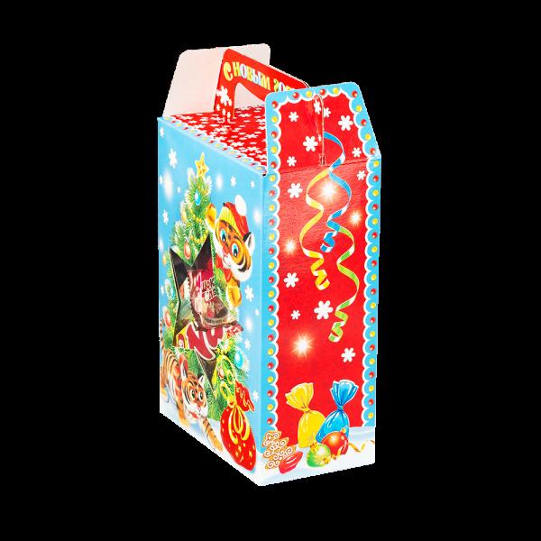 Новогодний подарок Фиеста стоимостью 350 руб. и весом 600 гр.