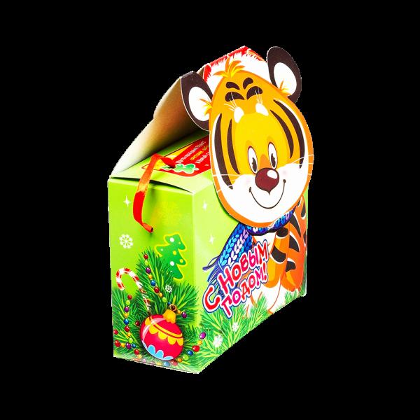Новогодний подарок Кексик стоимостью 290 руб. и весом 500 гр.