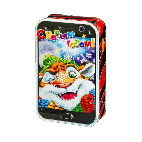 Новогодний подарок Тигра-фон стоимостью 240 руб. и весом 400 гр.