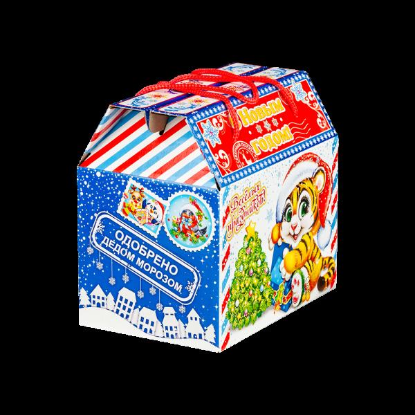 Новогодний подарок Презент стоимостью 599 руб. и весом 1100 гр.