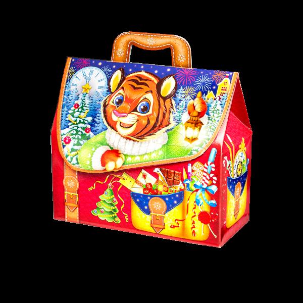 Новогодний подарок Портфель отличник стоимостью 400 руб. и весом 900 гр.