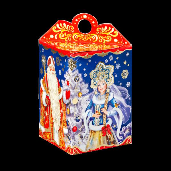 Новогодний подарок Мороз и внучка стоимостью 340 руб. и весом 800 гр.