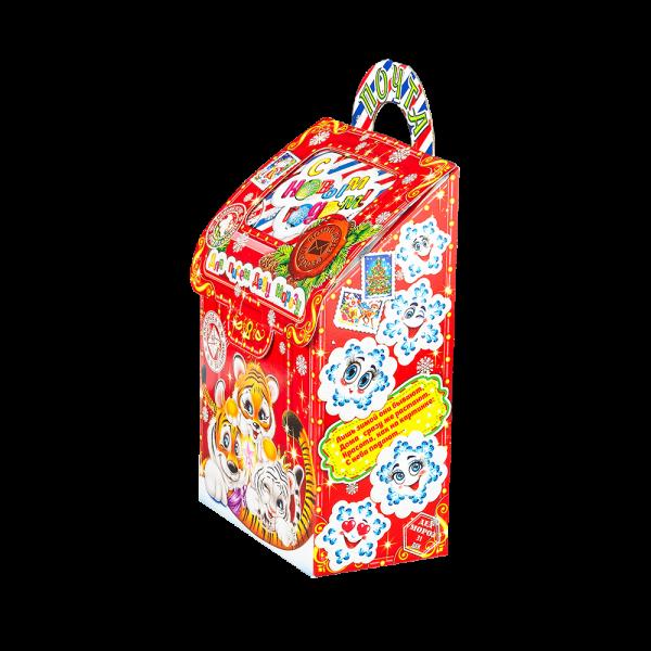 Новогодний подарок Почтовый ящик стоимостью 299 руб. и весом 700 гр.