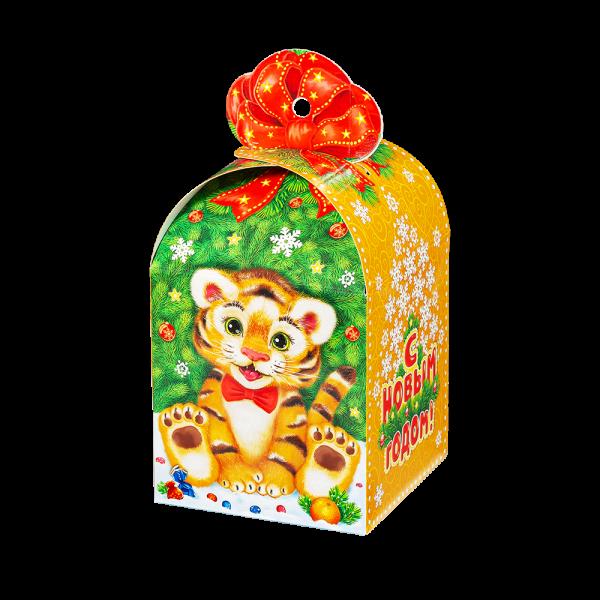 Новогодний подарок Лютик стоимостью 255 руб. и весом 600 гр.