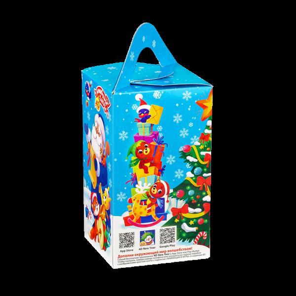 Новогодний подарок Дружные полярники стоимостью 255 руб. и весом 600 гр.
