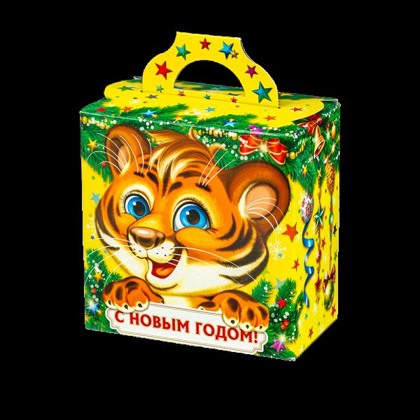 Новогодний подарок Рыжее чудо стоимостью 225 руб. и весом 500 гр.
