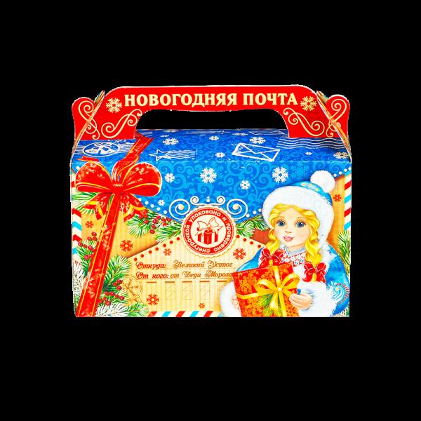 Новогодний подарок В гостях у Деда Мороза стоимостью 160 руб. и весом 400 гр.