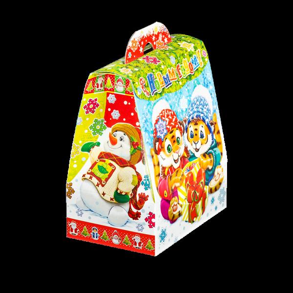 Новогодний подарок Тигромания стоимостью 160 руб. и весом 400 гр.