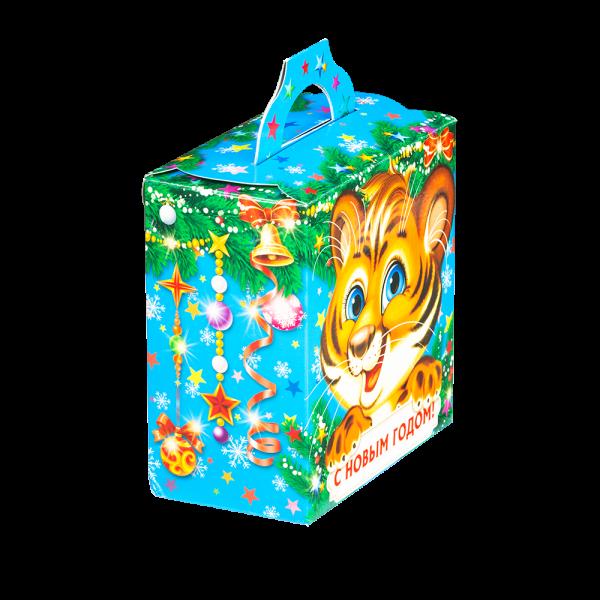 Новогодний подарок Мигель стоимостью 400 руб. и весом 500 гр.
