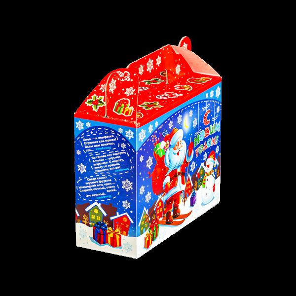 Новогодний подарок Правильное угощение стоимостью 300 руб. и весом 400 гр.
