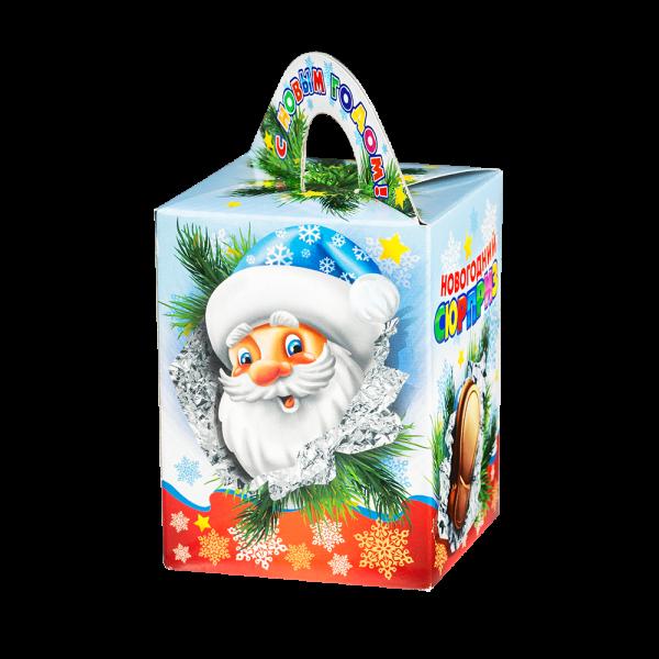 Новогодний подарок Полезности стоимостью 250 руб. и весом 300 гр.