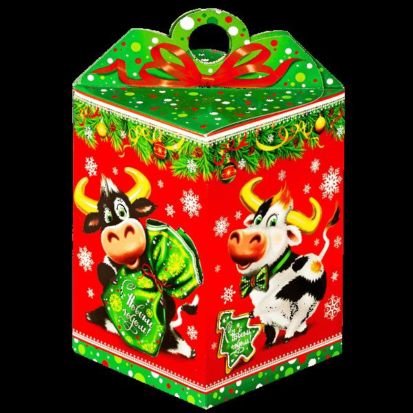 Новогодний подарок Братики-рогатики стоимостью 250 руб. и весом 500 гр.