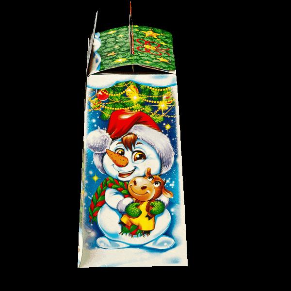 Новогодний подарок Карапуз Морозик стоимостью 300 руб. и весом 600 гр.