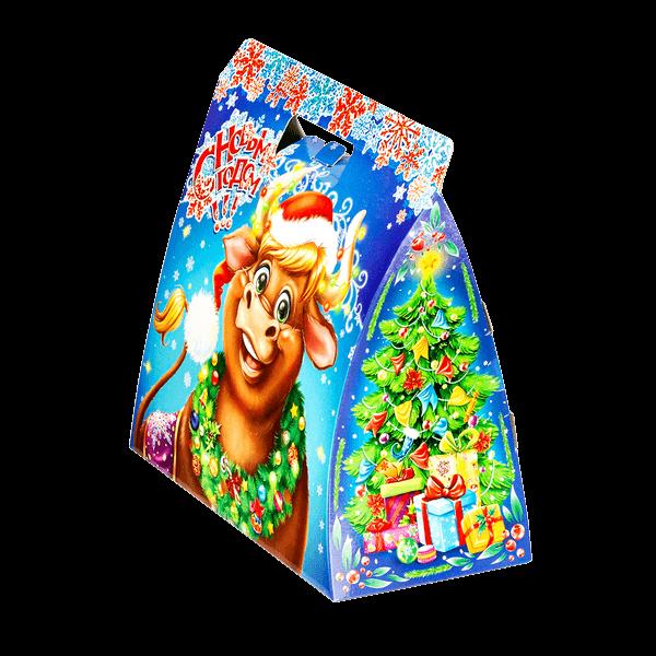 Новогодний подарок Диего стоимостью 400 руб. и весом 800 гр.