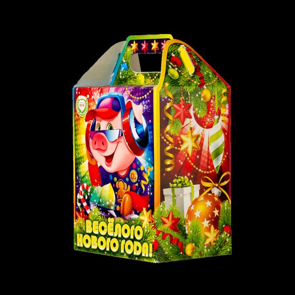 Новогодний подарок Дискотека стоимостью 350 руб. и весом 700 гр.