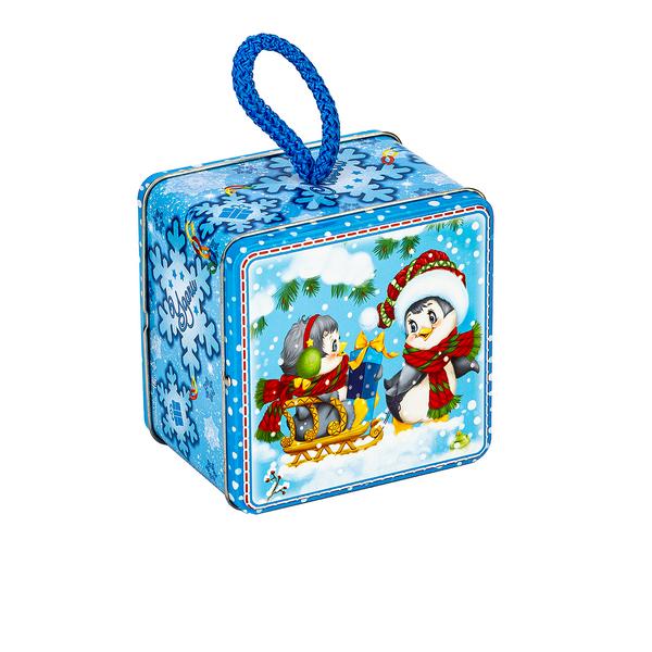 Новогодний подарок Друзья полярники стоимостью 430 руб. и весом 500 гр.