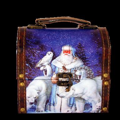 Новогодний подарок Заполярье стоимостью 800 руб. и весом 400 гр.