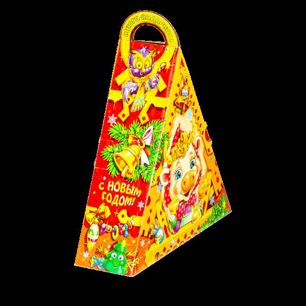 Новогодний подарок Сказочная избушка стоимостью 550 руб. и весом 800 гр.