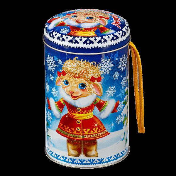 Новогодний подарок Фрося стоимостью 200 руб. и весом 300 гр.