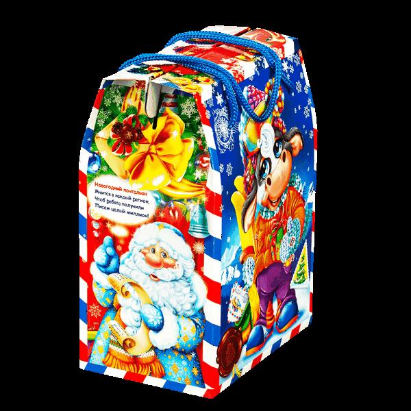 Новогодний подарок Доставка подарков стоимостью 500 руб. и весом 700 гр.
