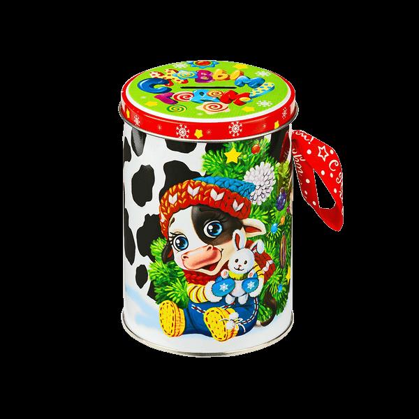 Новогодний подарок Копилка стоимостью 240 руб. и весом 200 гр.