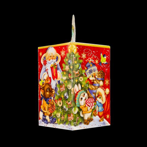 Новогодний подарок Вокруг елки стоимостью 350 руб. и весом 700 гр.