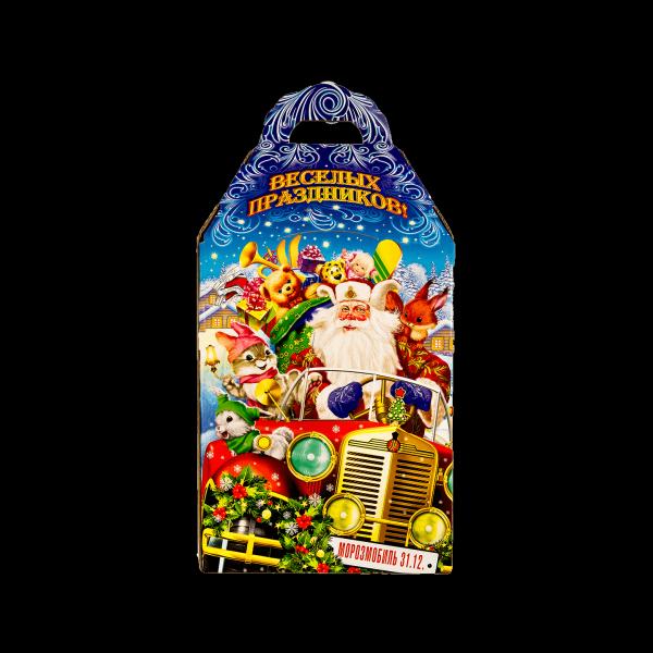 Новогодний подарок Лесной автопробег стоимостью 400 руб. и весом 800 гр.
