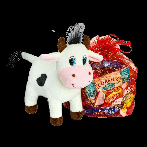 Новогодний подарок Любимчик стоимостью 500 руб. и весом 500 гр.