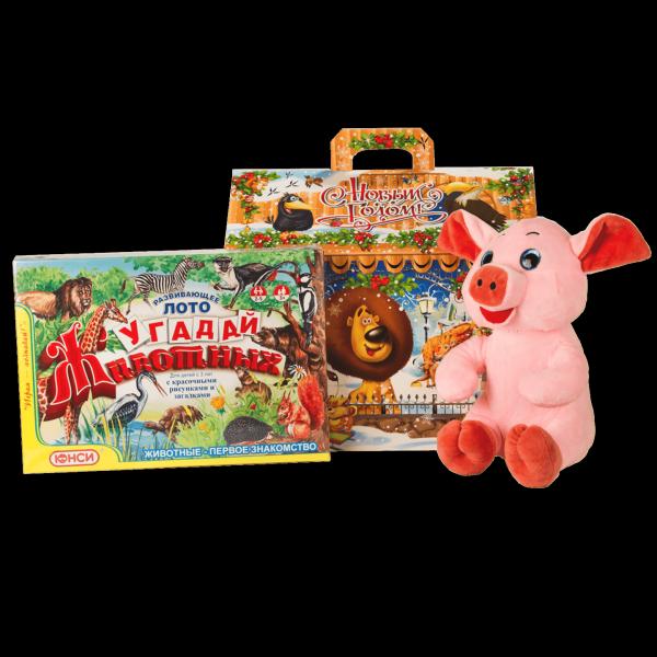Новогодний подарок Мадагаскар стоимостью 1600 руб. и весом 1400 гр.