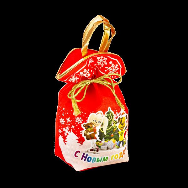 Новогодний подарок Мешок Барбоскины стоимостью 450 руб. и весом 900 гр.