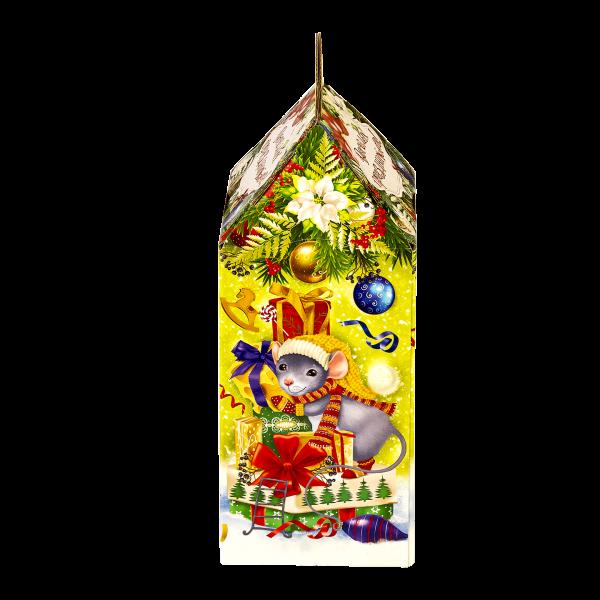 Новогодний подарок Мышиная история стоимостью 450 руб. и весом 800 гр.