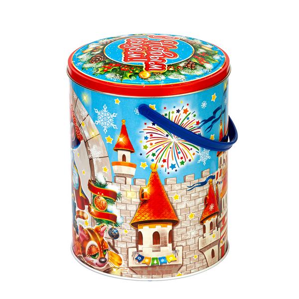 Новогодний подарок Мышкетер стоимостью 850 руб. и весом 1000 гр.