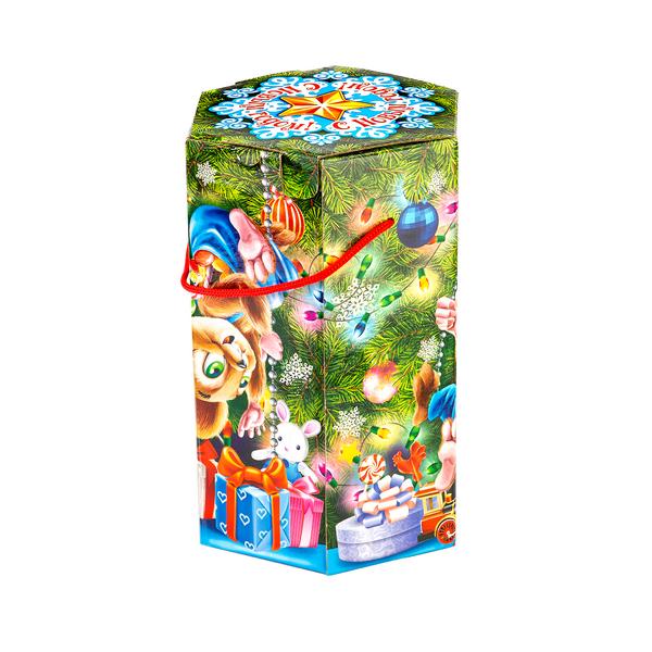 Новогодний подарок Мышки-шалунишки стоимостью 900 руб. и весом 1200 гр.