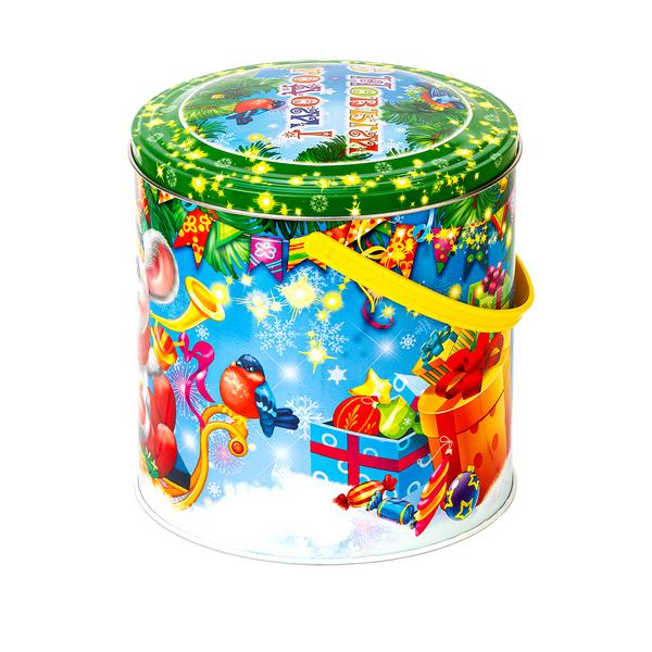 Новогодний подарок Мышкина радость стоимостью 700 руб. и весом 1000 гр.